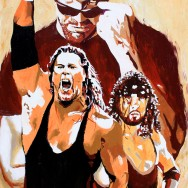 "The Kliq - Acrylic on 24"" x 30"" canvas"