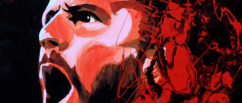 CM Punk by Rob Schamberger