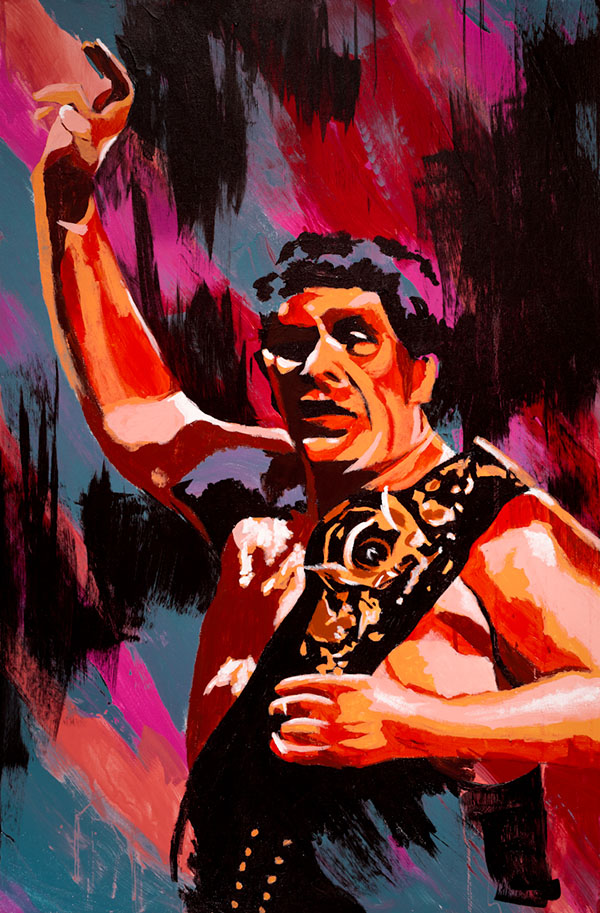Andre the Giant painting by Rob Schamberger