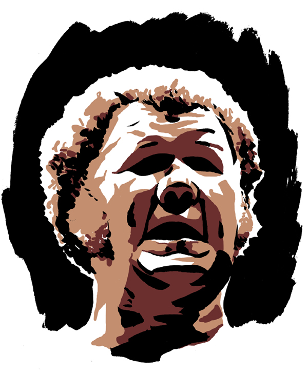 Harley Race Award Art by Rob Schamberger