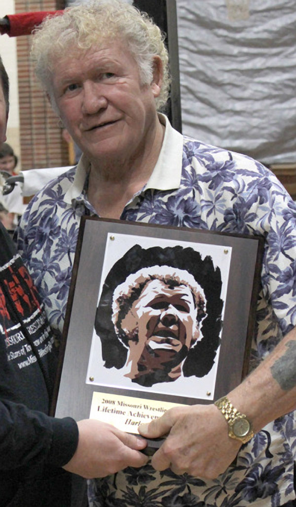 Harley Race With Rob Schamberger's Art