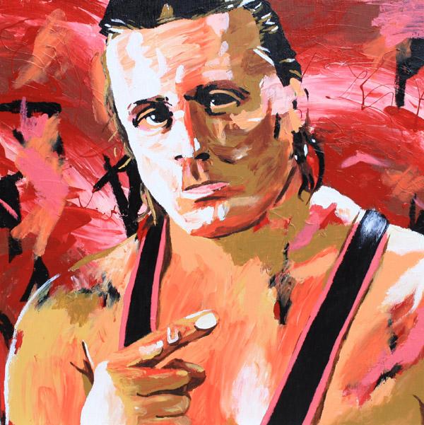 Owen Hart by Rob Schamberger