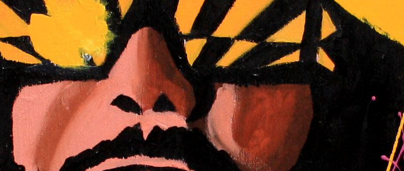 The Macho Man Randy Savage by Rob Schamberger