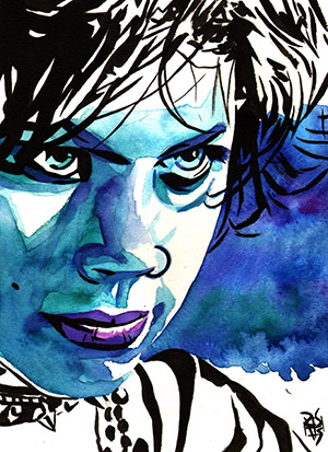 Purchase Fairuza Balk as Nancy in The Craft Painting by Rob Schamberger