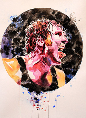 Purchase Dean Ambrose Painting by Rob Schamberger