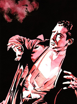 Purchase Dracula Painting by Rob Schamberger