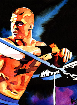 Purchase Frankie Kazarian Painting by Rob Schamberger