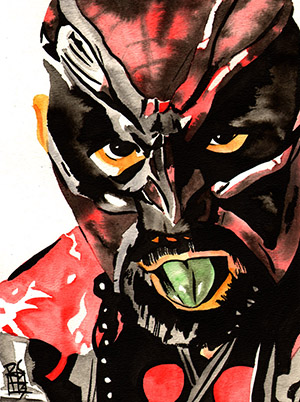Purchase Great Muta Painting by Rob Schamberger
