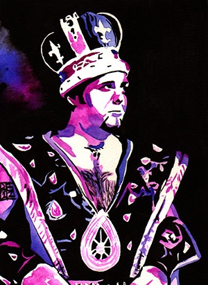 Purchase Royalty print by Rob Schamberger