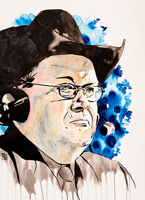 Purchase Jim Ross Slobberknocker Painting by Rob Schamberger