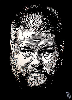 Purchase Kevin Owens Painting by Rob Schamberger