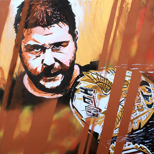 Purchase Kevin Steen Painting by Rob Schamberger