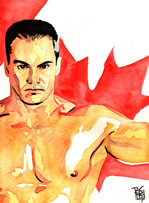 Purchase Lance Storm Painting by Rob Schamberger