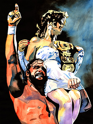 Purchase Macho Lady Print by Rob Schamberger