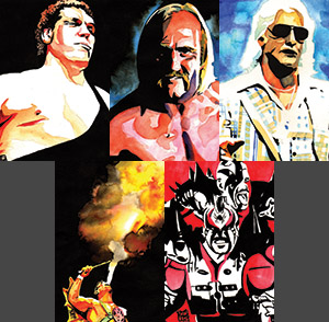 Purchase Tonight's Main Event Print Set by Rob Schamberger