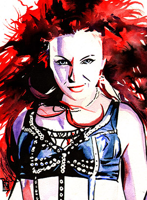 Purchase Maria Kanellis Painting by Rob Schamberger