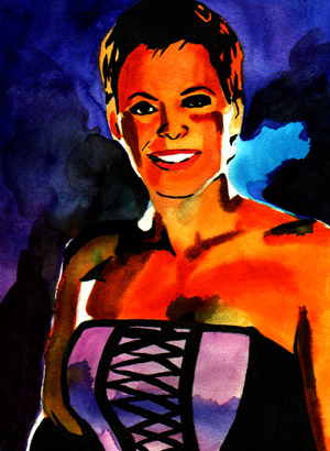 Purchase Molly Holly Painting by Rob Schamberger