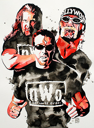 Purchase NWO Painting by Rob Schamberger