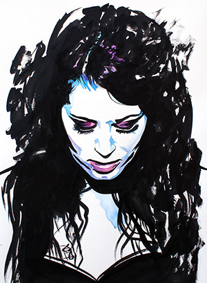 Purchase Paige Painting by Rob Schamberger