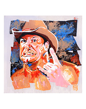 Purchase The Lariat Classic print by Rob Schamberger