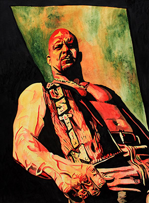Purchase Stone Cold Steve Austin Painting by Rob Schamberger