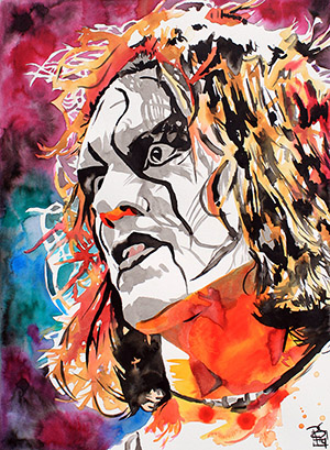 Purchase Sting Painting by Rob Schamberger