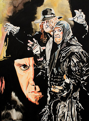 Purchase Ages of The Undertaker Painting by Rob Schamberger