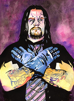 Purchase Old School Undertaker Painting by Rob Schamberger