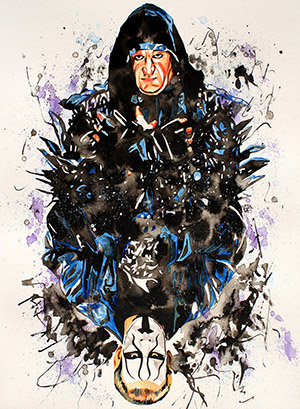 Purchase Undertaker/Sting Painting by Rob Schamberger