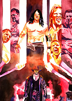 Purchase WrestleMania 20 Painting by Rob Schamberger