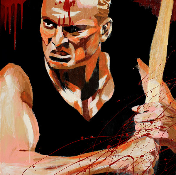Sandman painting by Rob Schamberger