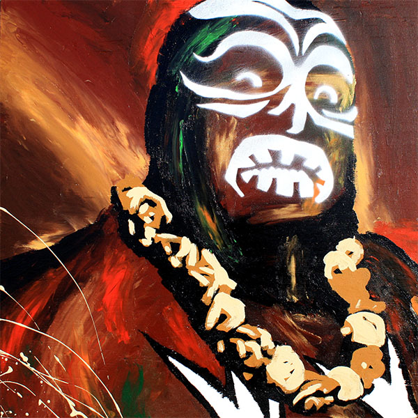 Kamala painting by Rob Schamberger