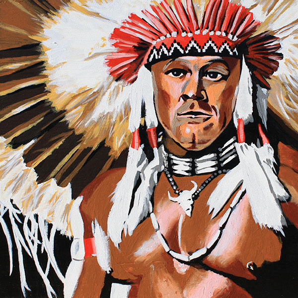 Tatanka painting by Rob Schamberger