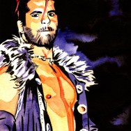 "Jimmy Jacobs - Ink and watercolor on 9"" x 12"" watercolor paper"