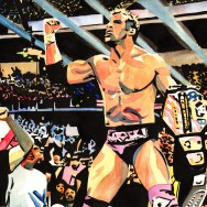 "Zack Ryder - Ink and watercolor on 18"" x 12"" watercolor paper"