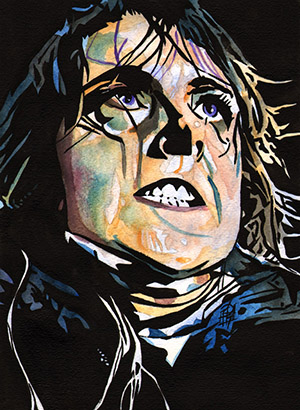 Purchase Nikki Cross painting by Rob Schamberger