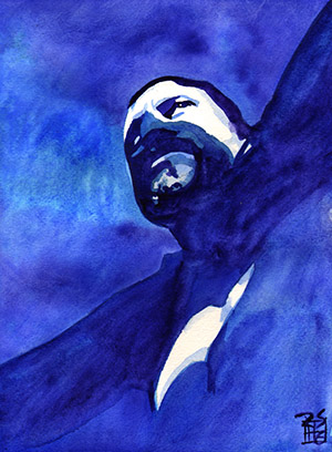 Purchase Austin Aries painting by Rob Schamberger