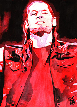 Purchase Baron Corbin painting by Rob Schamberger