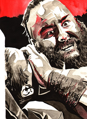 Purchase Braun Strowman painting by Rob Schamberger