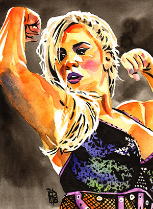 Purchase Dana Brooke painting by Rob Schamberger