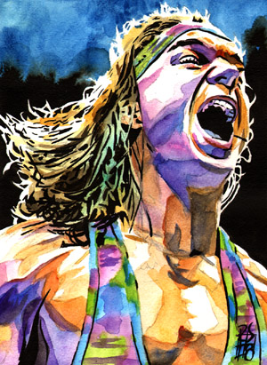 Purchase Chad Gable painting by Rob Schamberger