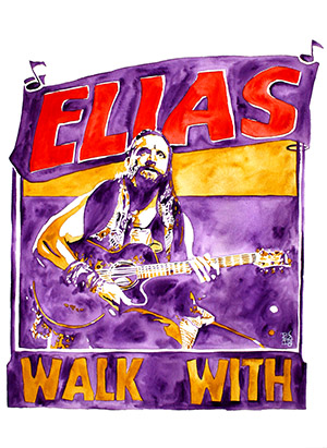 Purchase Elias painting by Rob Schamberger