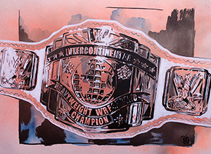 Purchase Intercontinental Championship painting by Rob Schamberger