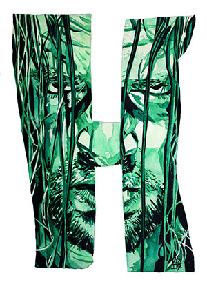 Purchase H is For... Limited Edition print by Rob Schamberger