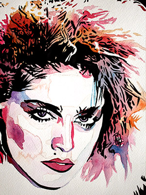 Purchase Madonna painting by Rob Schamberger