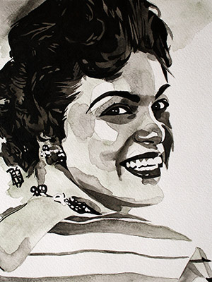 Purchase Patsy Cline painting by Rob Schamberger