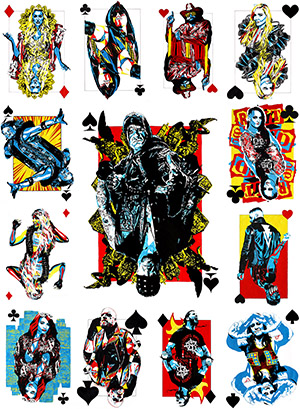 Purchase Playing Card Series print set by Rob Schamberger