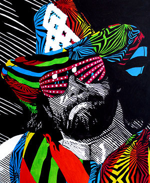 Purchase Randy Savage painting by Rob Schamberger