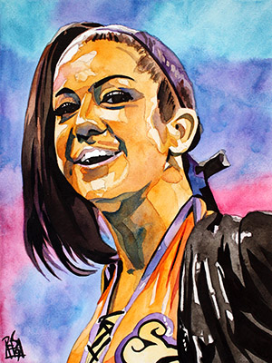 Purchase Bayley painting by Rob Schamberger